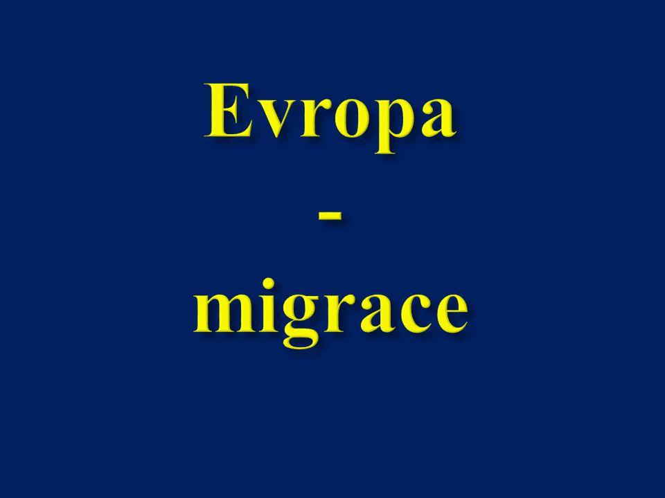 Evropa - migrace
