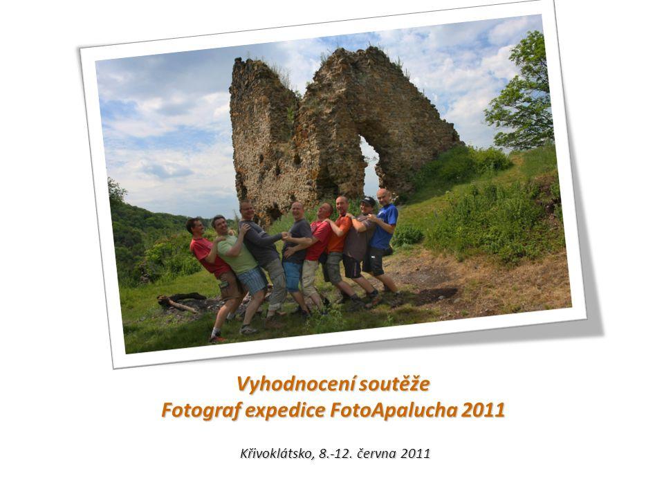 Vyhodnocení soutěže Fotograf expedice FotoApalucha 2011 Křivoklátsko, 8.-12. června 2011