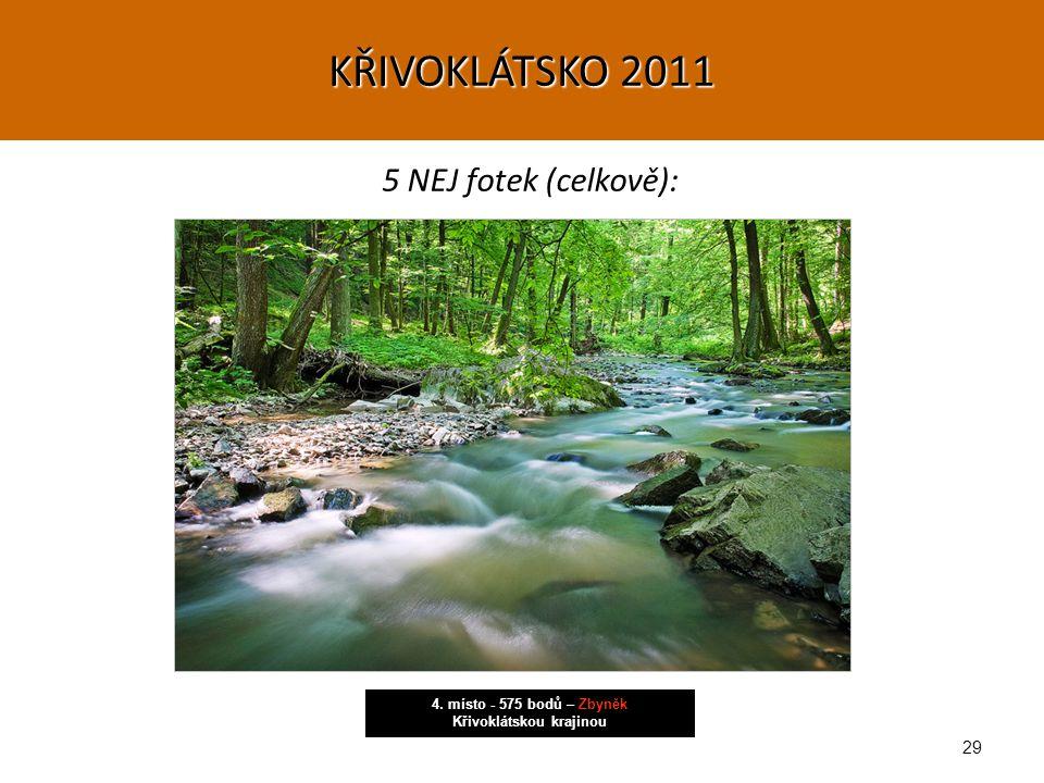 29 5 NEJ fotek (celkově): 4. místo - 575 bodů – Zbyněk Křivoklátskou krajinou KŘIVOKLÁTSKO 2011
