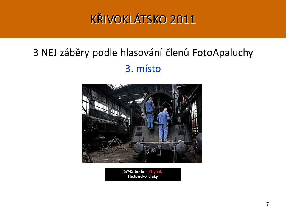 8 3 NEJ záběry podle hlasování členů FotoApaluchy 1.-2.