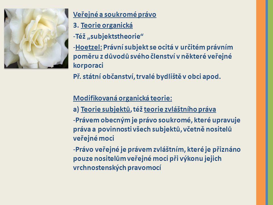 Veřejné a soukromé právo 3.