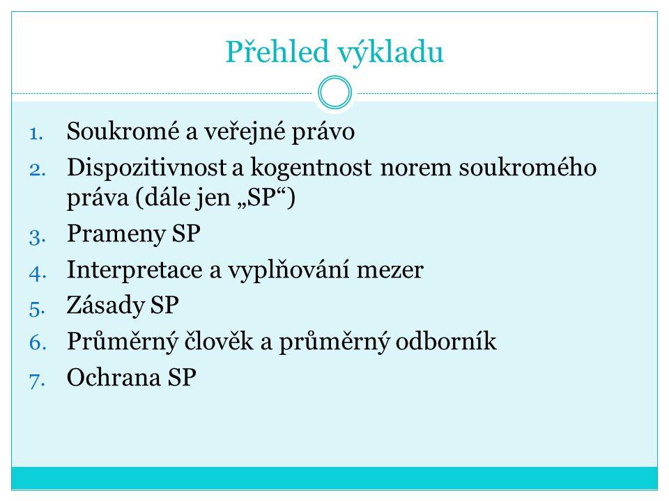 ČÁST III. Prameny SP