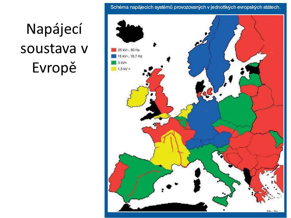 Napájecí soustava v Evropě