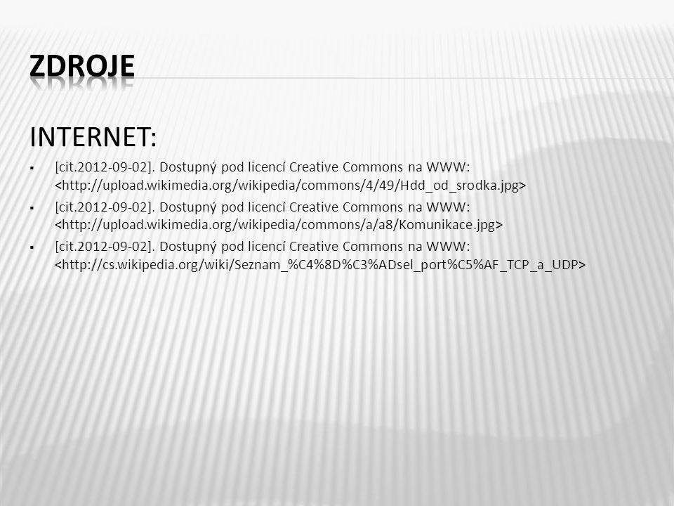 INTERNET:  [cit.2012-09-02]. Dostupný pod licencí Creative Commons na WWW: