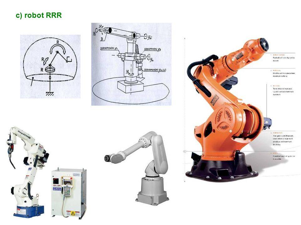 c) robot RRR