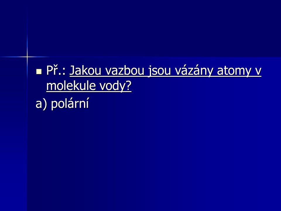 a) polární