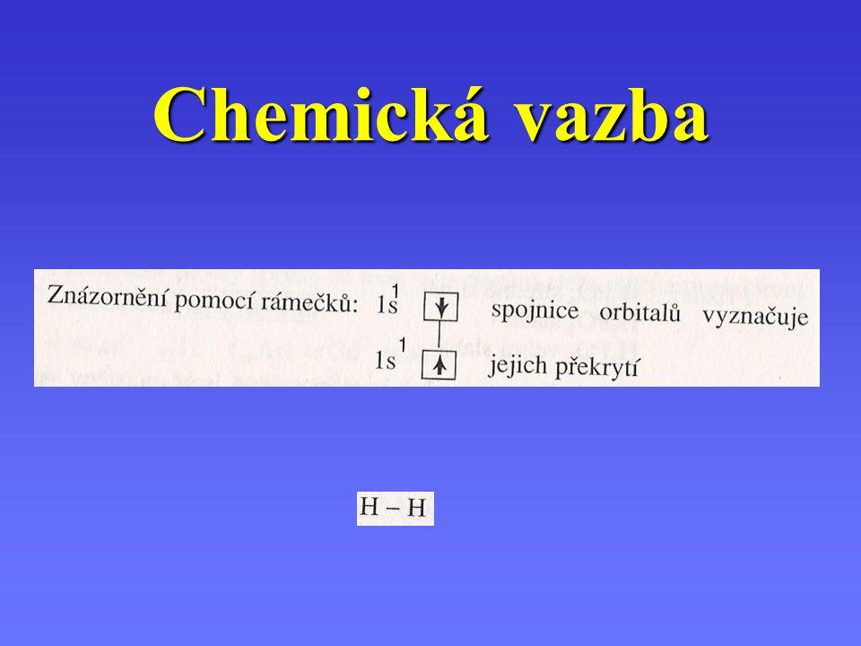Při vytváření chemické vazby se hybridizují nejen orbitaly, které se podílejí na vzniku chemické vazby, ale hybridizují se i všechny valenční orbitaly, které obsahují nevazebné elektronové páryPři vytváření chemické vazby se hybridizují nejen orbitaly, které se podílejí na vzniku chemické vazby, ale hybridizují se i všechny valenční orbitaly, které obsahují nevazebné elektronové páry
