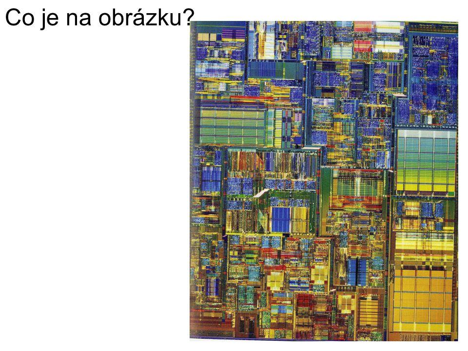 Moderní polovodičová součástka, která je srdcem počítače.