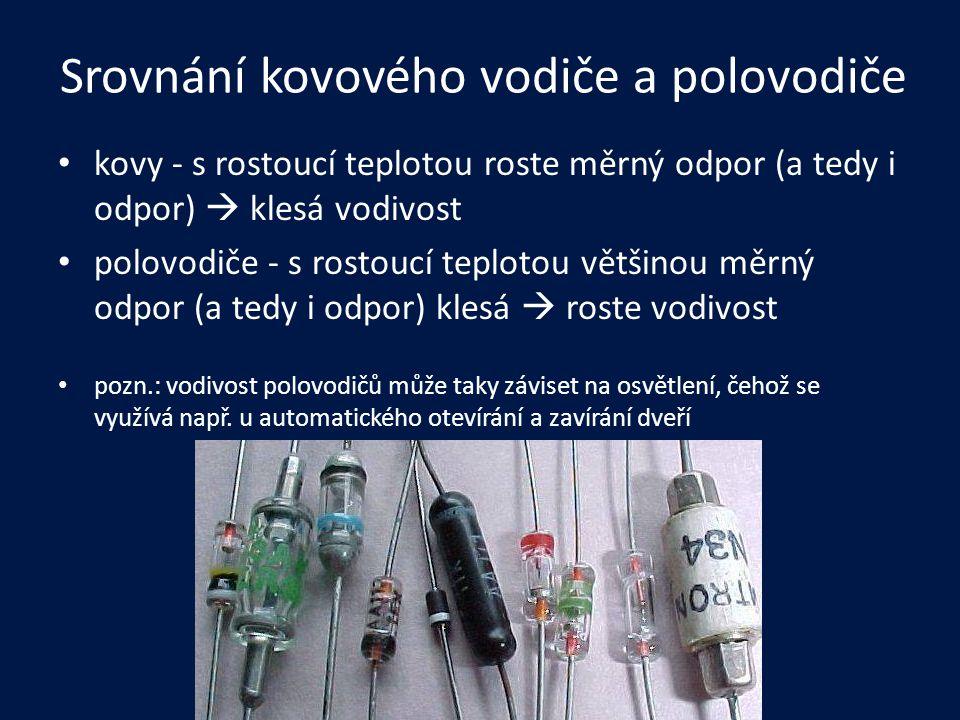 Z čeho jsou.mezi nejznámější polovodivé materiály patří prvky IV.