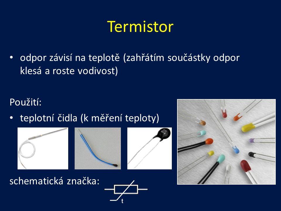 Použití polovodičové diody dioda se velmi často používá k usměrnění střídavého proudu (jeden směr proudu propustí a druhý ne) usměrnění může být: – jednocestné – dvojcestné jednocestný usměrňovač - propouští pouze jednu půlvlnu vstupního napětí (proudu), je to nejjednodušší zapojení usměrňovače, které vyžaduje pouze jednu diodu tzv.