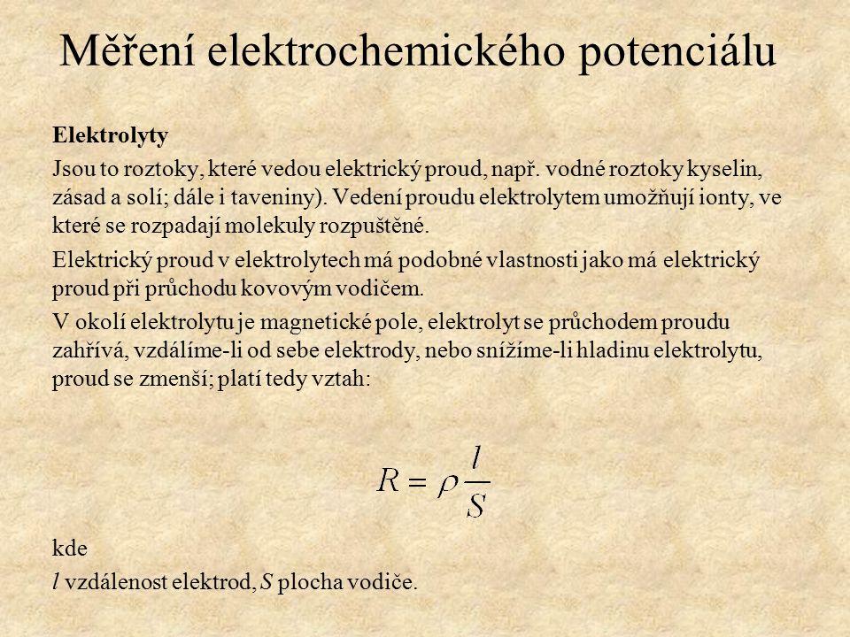 Elektrolyty Jsou to roztoky, které vedou elektrický proud, např.
