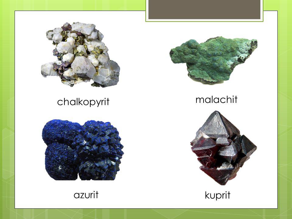 chalkopyrit malachit azurit kuprit