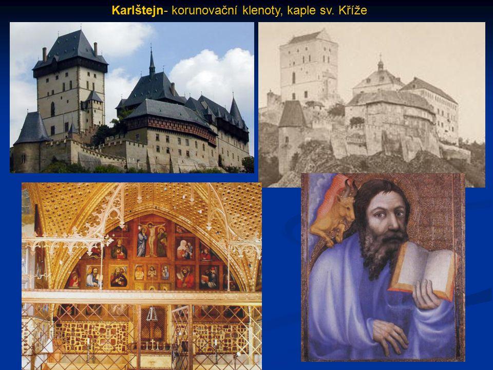 Karlštejn- korunovační klenoty, kaple sv. Kříže