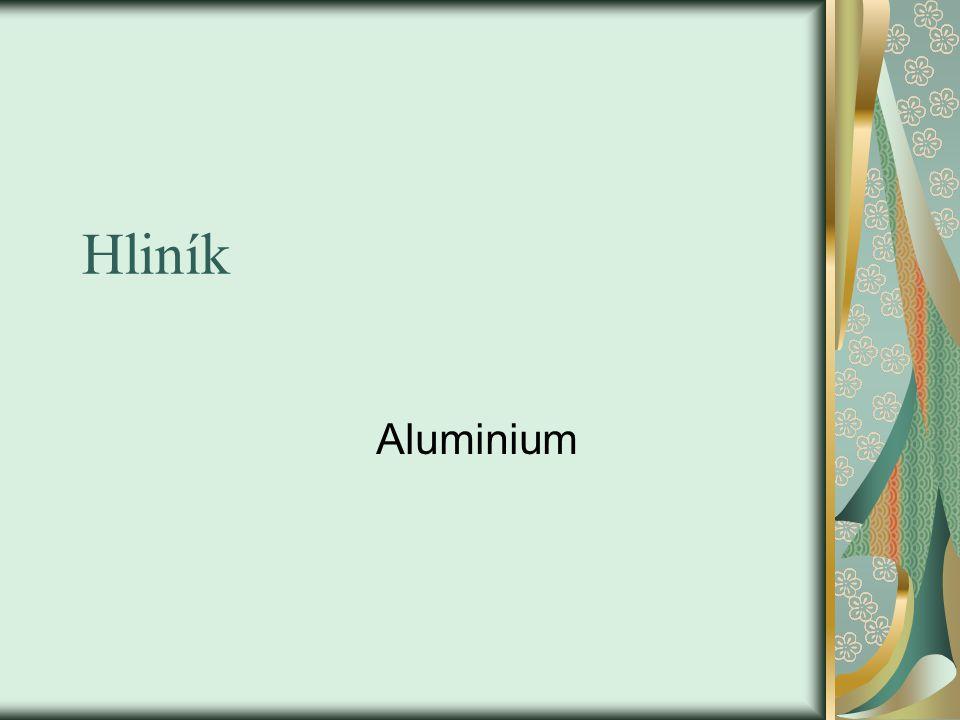 Hliník Aluminium