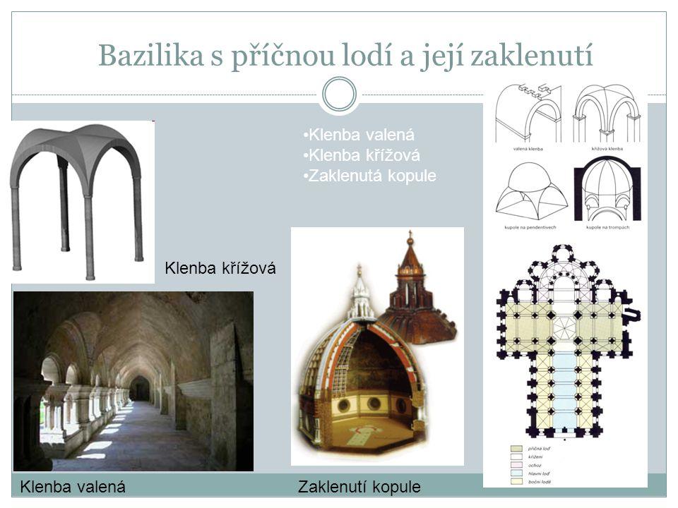 Charakteristika stavební materiál – kameny a cihly často neomítnuté - řádkové zdivo okna obloukovitá nebo kulatá zdi – důkladné a široké zdánlivá těžkopádnost půlkruhový oblouk Románské zdi a okna Půlkruhový oblouk vstupu do otevřené kruhové místnosti