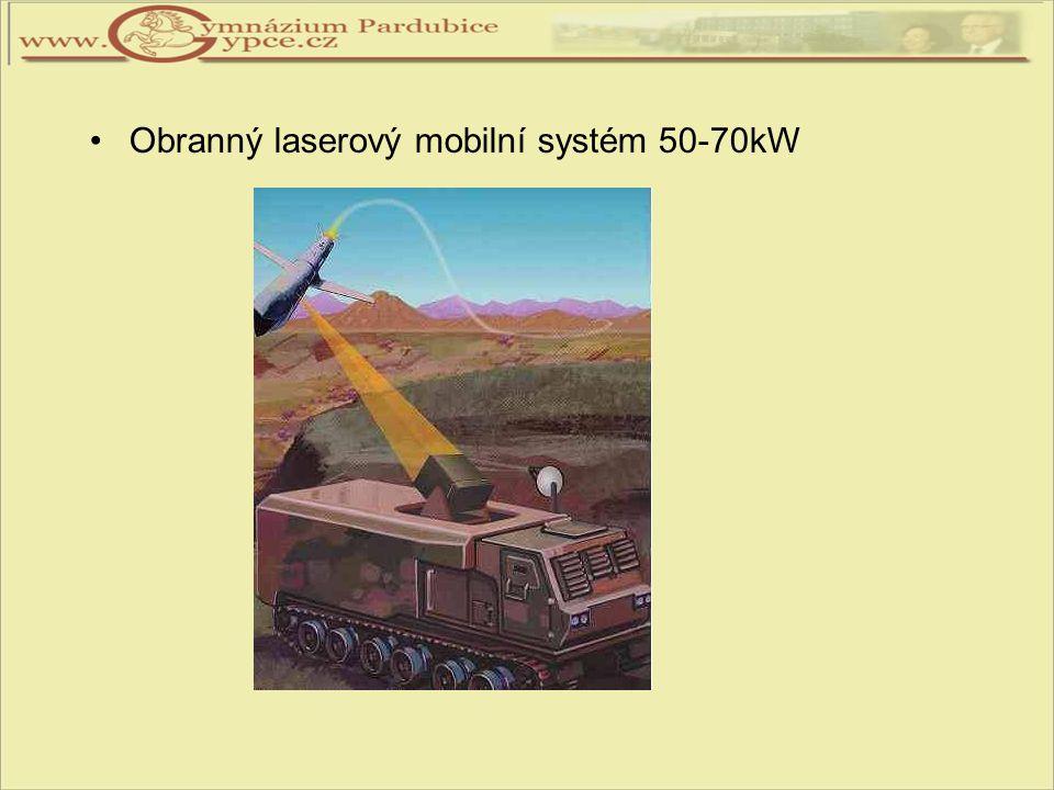 Obranný laserový mobilní systém 50-70kW
