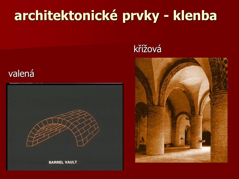 architektonické prvky - portál