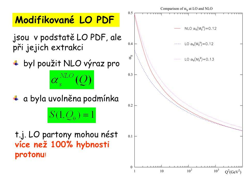 Modifikované LO PDF jsou v podstatě LO PDF, ale při jejich extrakci a byla uvolněna podmínka t.j.
