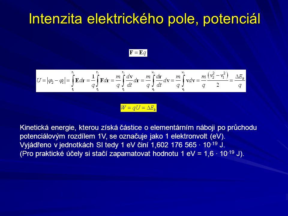 Přirozená soustava jednotek V částicové fyzice se elektronvolty, jejich násobky a mocniny běžně užívají i k vyjádření hodnot jiných veličin než energie.