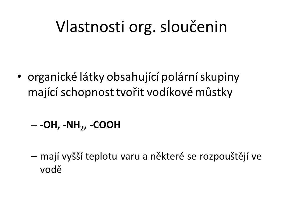 Strukturní teorie org.sloučenin I uhlík v org.