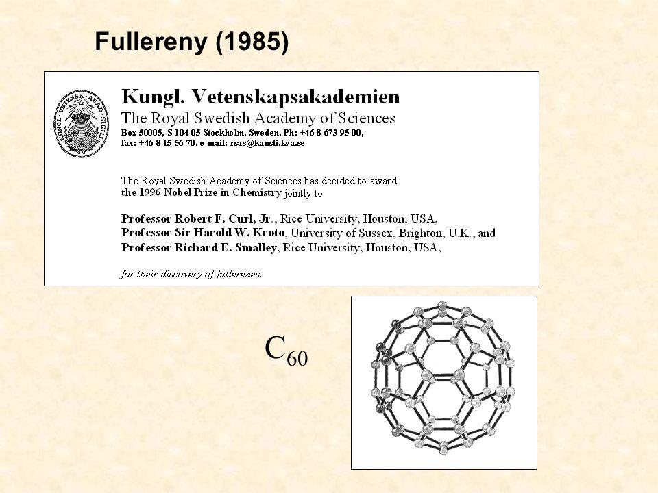 Fullereny (1985) C 60
