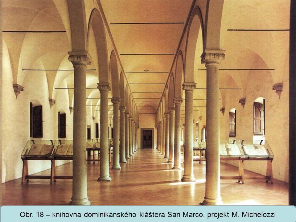 Střední škola Oselce Obr. 19 – vnitřní nádvoří paláce Medici-Riccardi, projekt M. Michelozzi