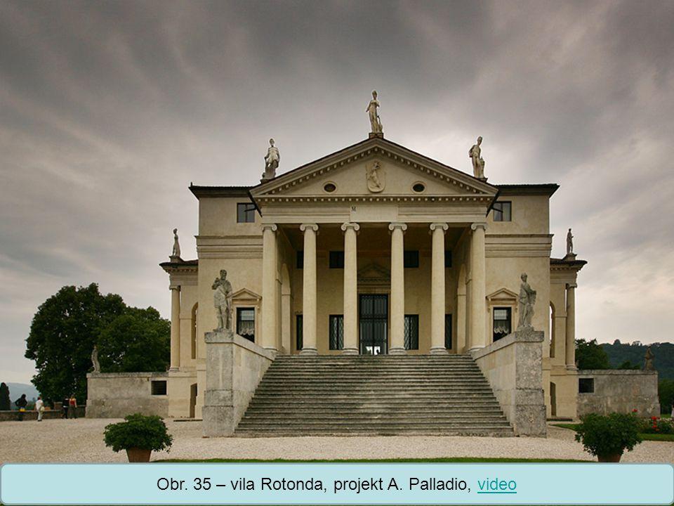 Střední škola Oselce Obr. 36 – Teatro Olimpico s perspektivní scénou, projekt A. Palladio