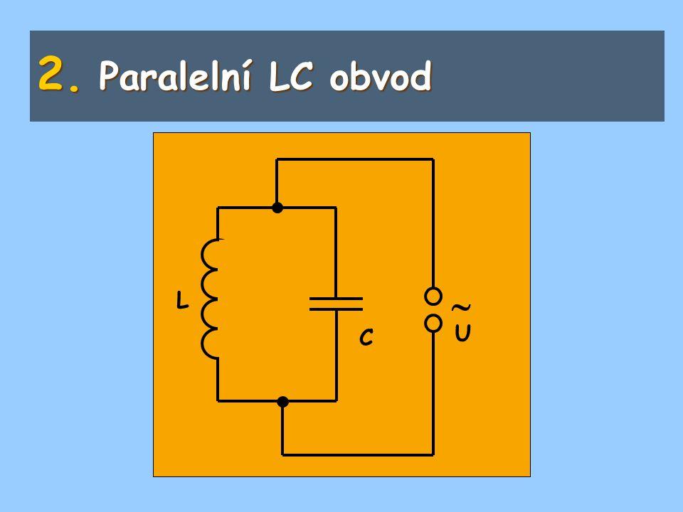 2. Paralelní LC obvod  L C U
