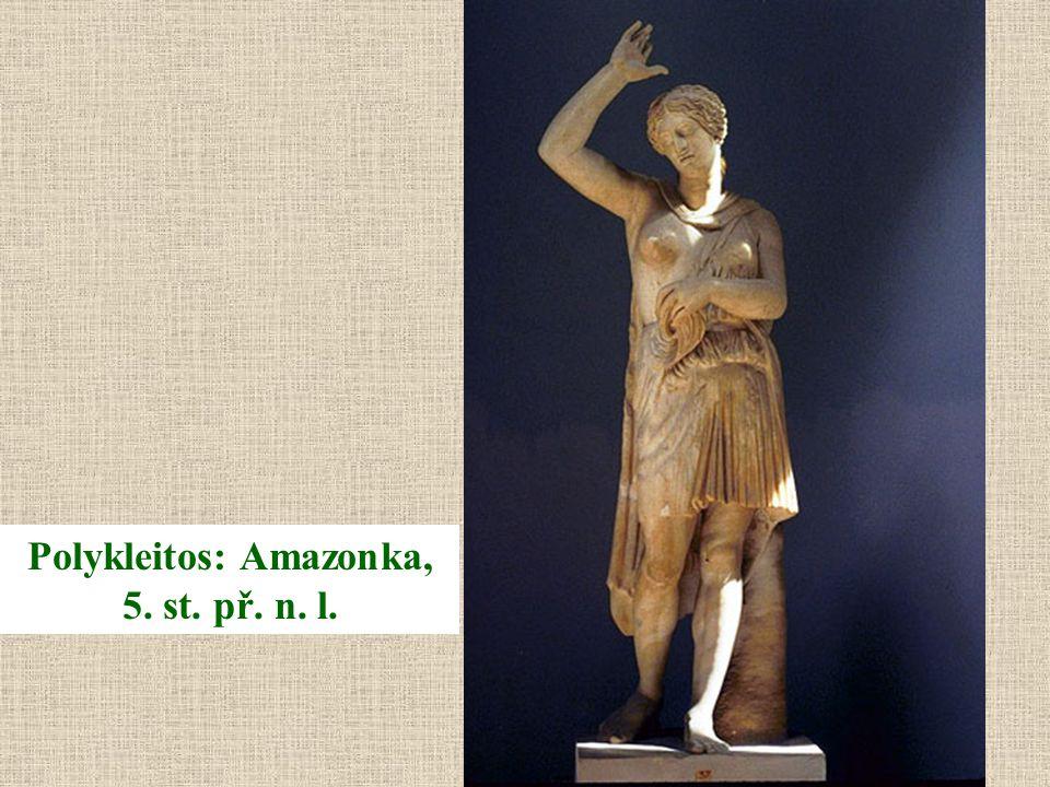 Polykleitos: Amazonka, 5. st. př. n. l.