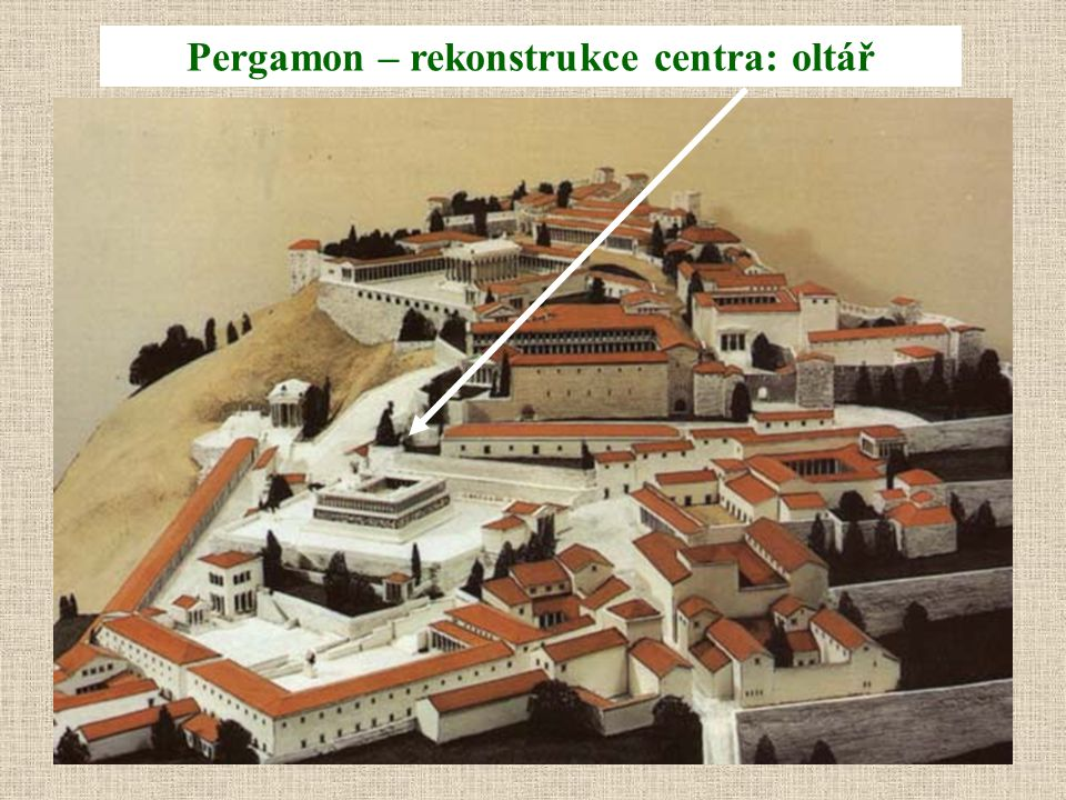 Pergamon – rekonstrukce centra: oltář