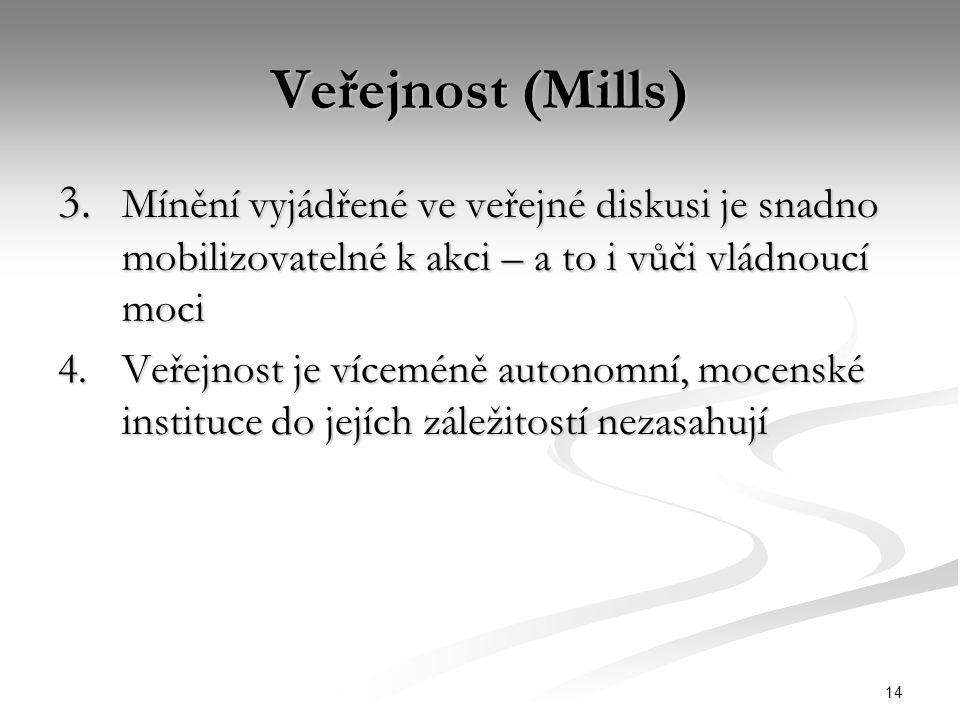 14 Veřejnost (Mills) 3.
