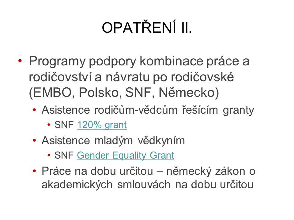 OPATŘENÍ II.