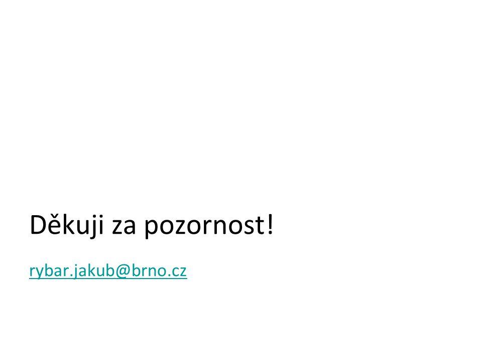 Děkuji za pozornost! rybar.jakub@brno.cz