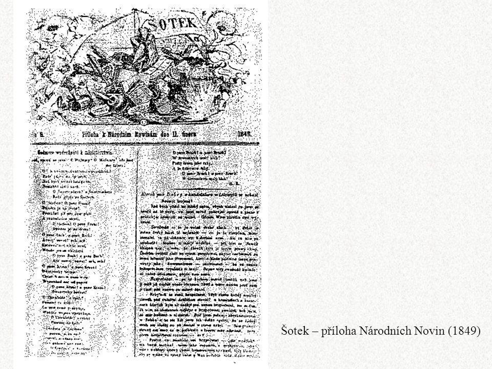 Šotek – příloha Národních Novin (1849)