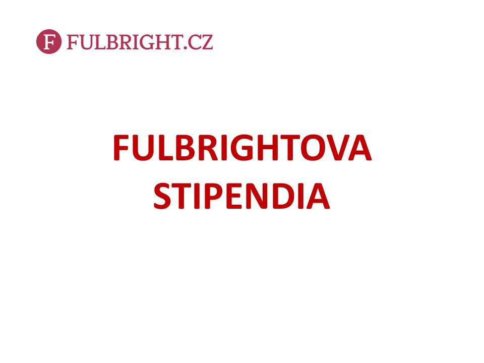 FULBRIGHTOVA STIPENDIA
