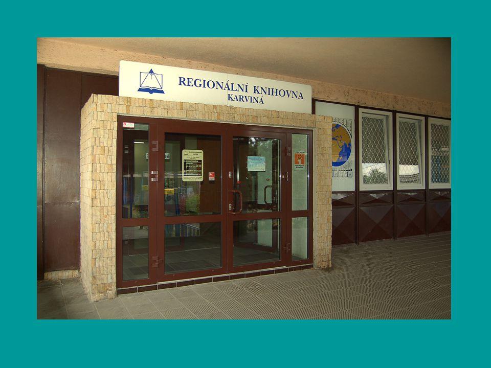 Regionální knihovna Karviná Informační oddělení Jaká je půjčovní doba.
