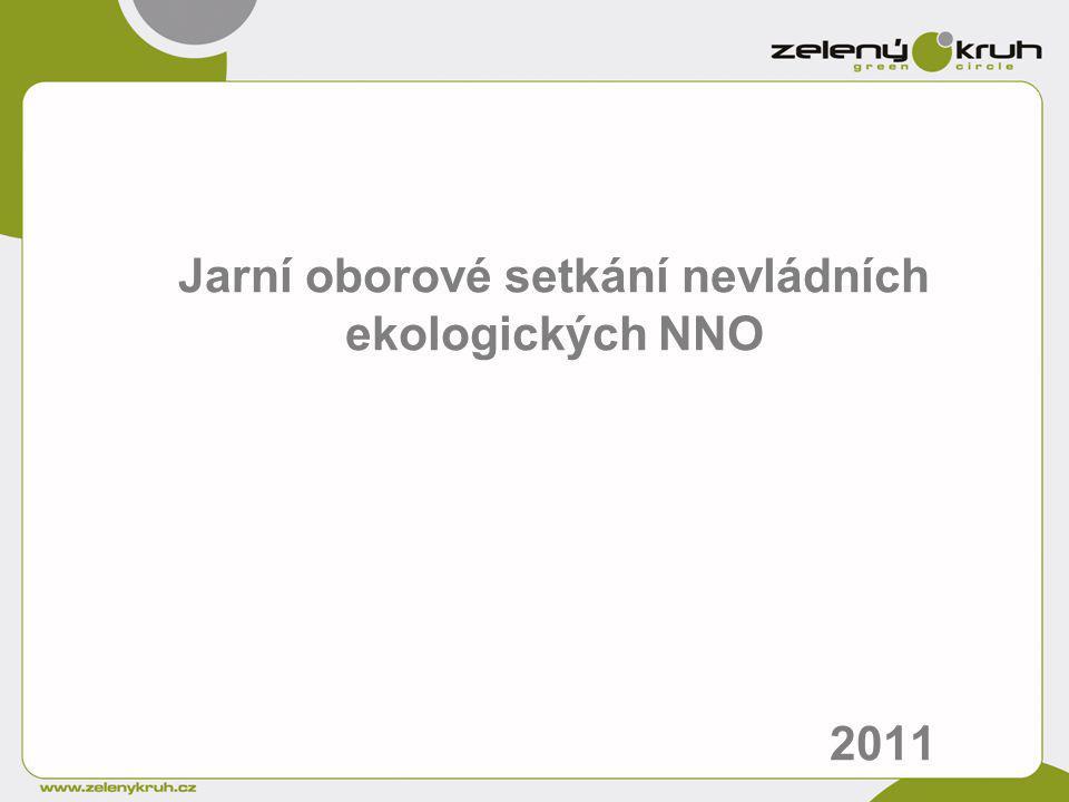 Jarní oborové setkání nevládních ekologických NNO 2011