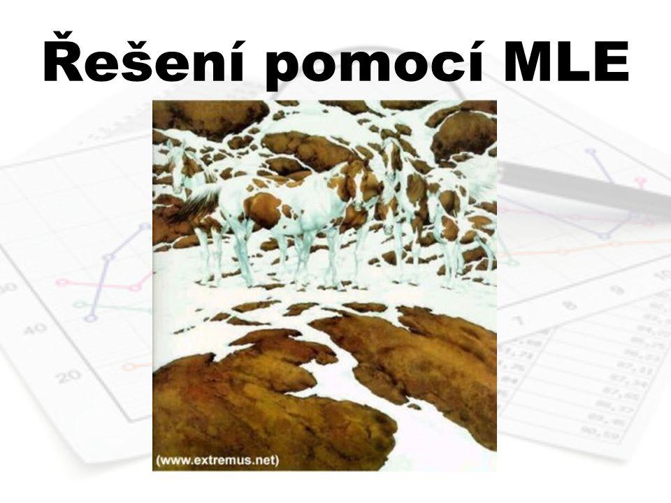 Řešení pomocí MLE