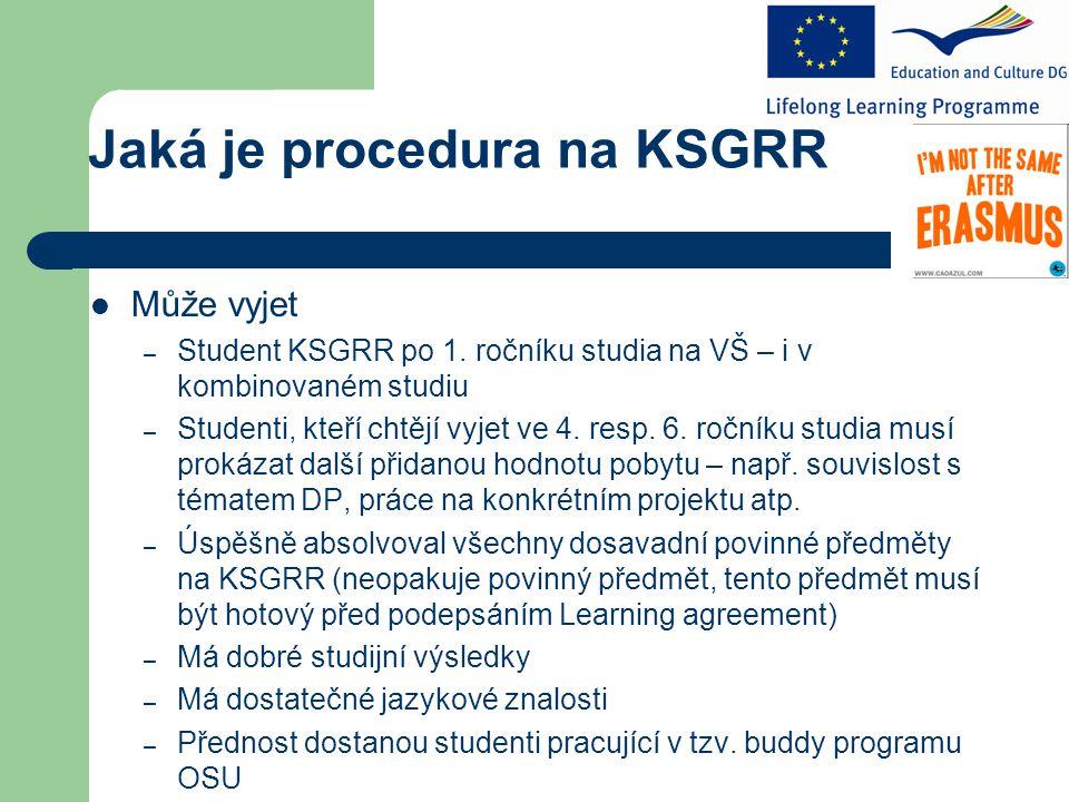 Jaká je procedura na KSGRR Může vyjet – Student KSGRR po 1.