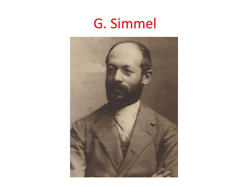 G. Simmel