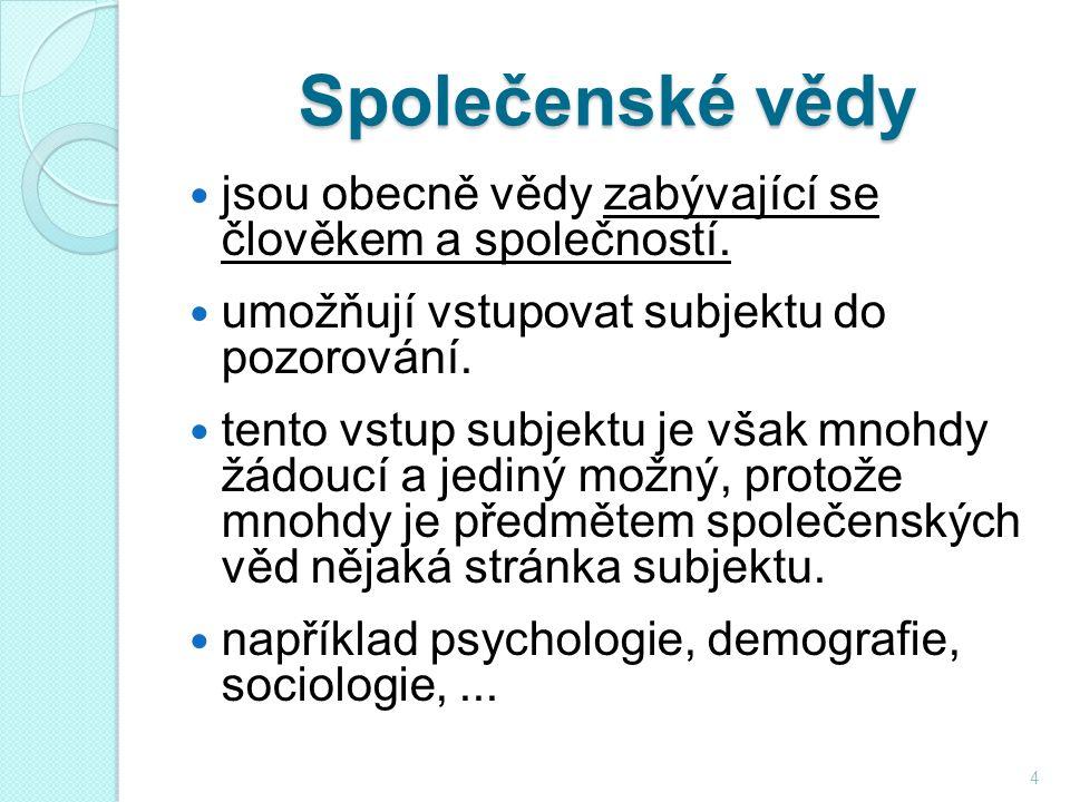 Společenské vědy jsou obecně vědy zabývající se člověkem a společností.
