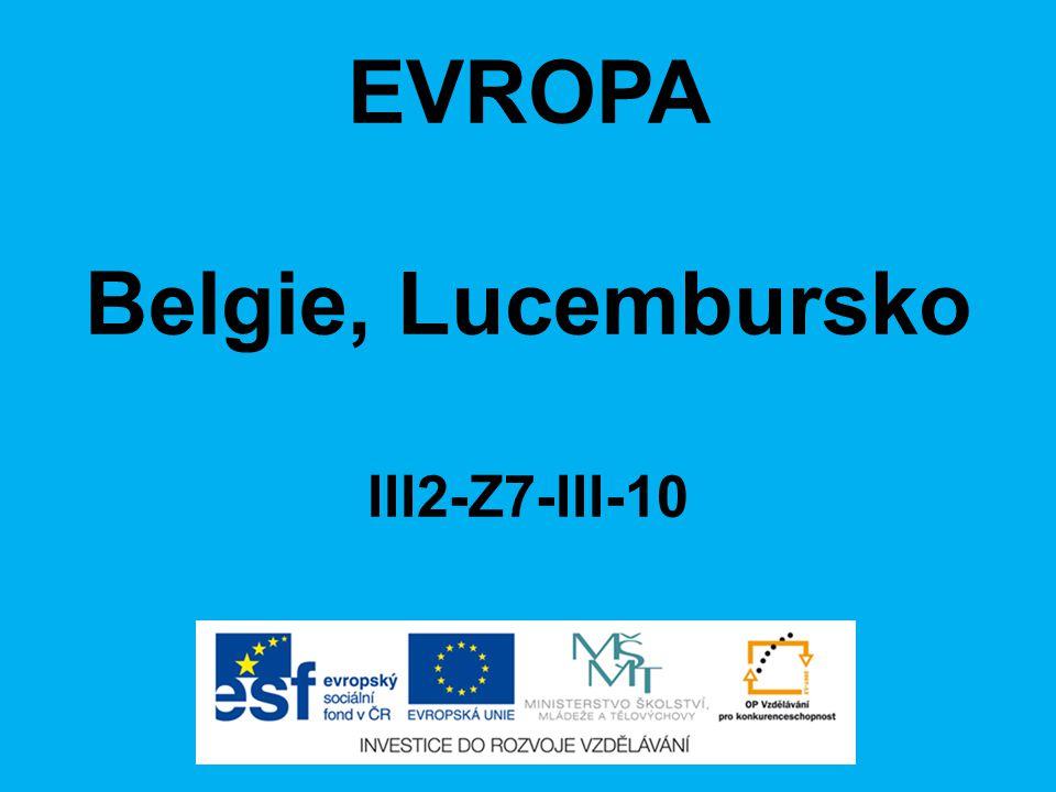 EVROPA Belgie, Lucembursko III2-Z7-III-10