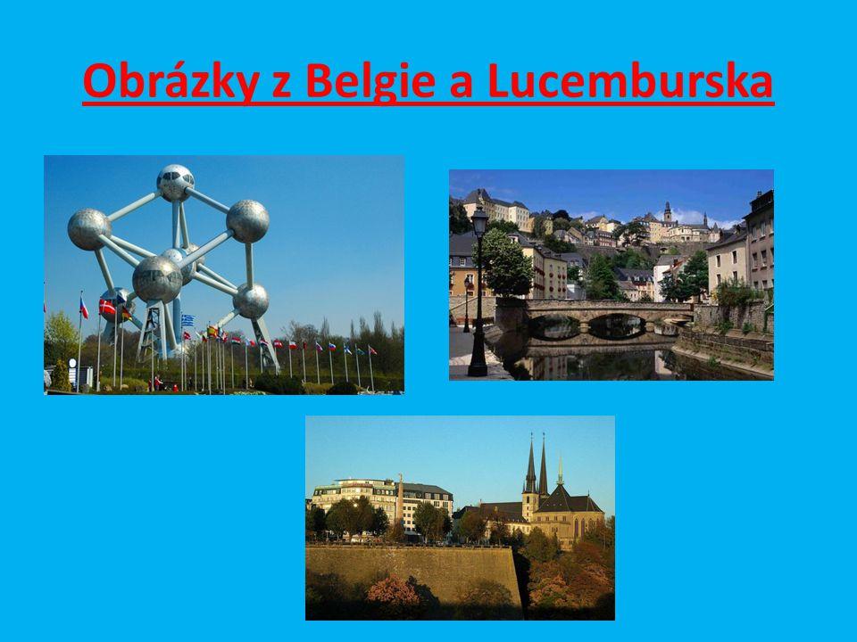 Obrázky z Belgie a Lucemburska