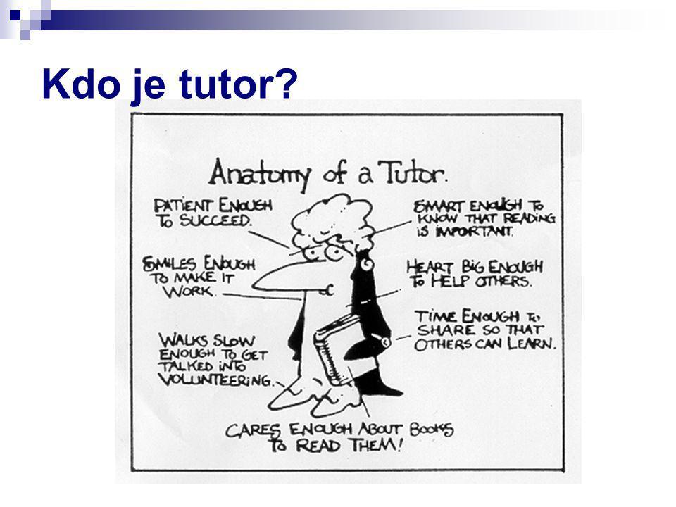 Kdo je tutor