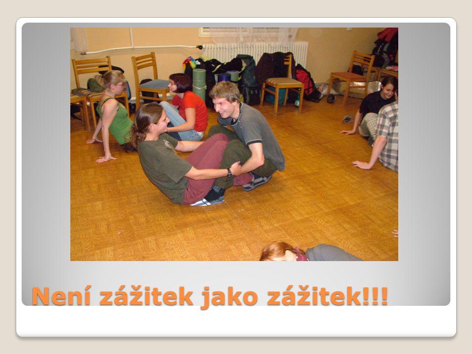 Zážitková pedagogika 1 Týmové role: např.