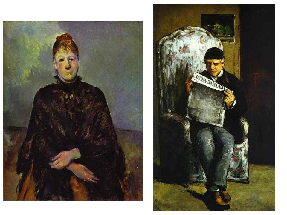 """Význam Cézannovy tvorby v moderním umění Co ovlivnilo jeho tvorbu Vzdělání, pobyt v Paříži, setkání s impresionisty Camille Pissarro a práce s ním, malba v plenéru """"konstruktivní malířství Různé lokality Zobrazování z různých pozorovacích bodů """"vždy proti proudu Nepochopen současníky, dokonce ani přáteli a rodinou Kdo navázal na jeho tvorbu Gogh, Gauguin, Matisse, Picasso Kubismus a abstraktní umění 20."""