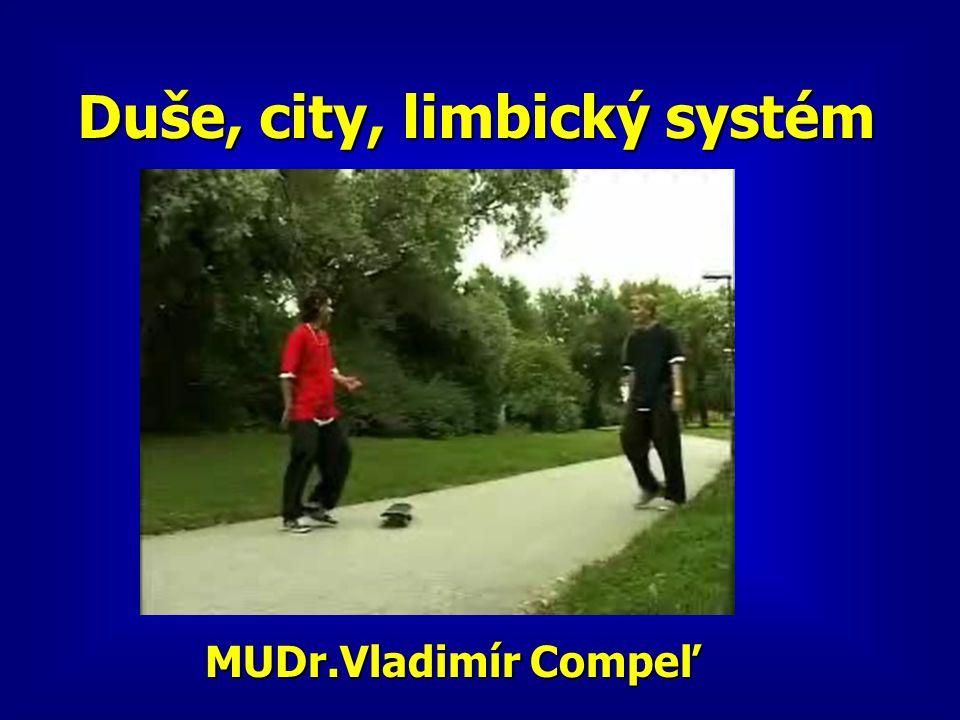 Duše, city, limbický systém MUDr.Vladimír Compeľ