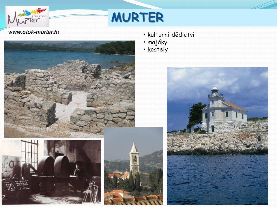 2011. MURTER kulturní dědictví majáky kostely www.otok-murter.hr