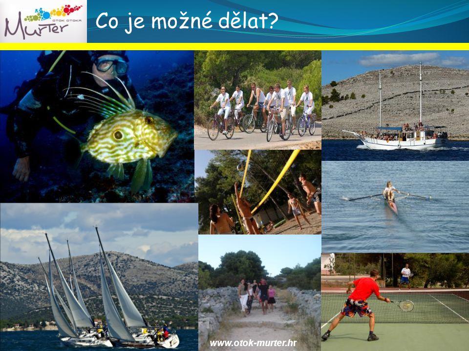 Co je možné dělat? www.otok-murter.hr