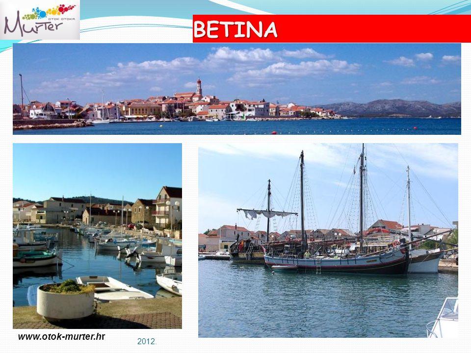 2012. BETINA www.otok-murter.hr